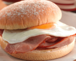 Breakfast Bap