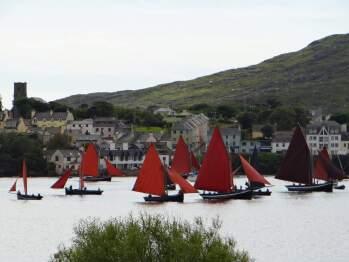 Traditional Sailing Boats at the Annual Regatta