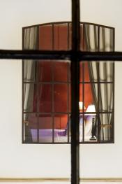 Vue de la chambre chasse à tir sur la chambre chasse à courre