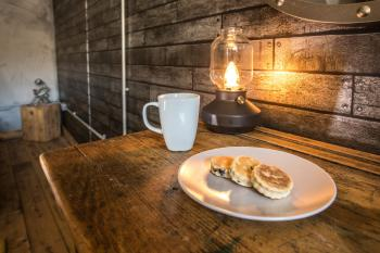 Twm - complimentary Welsh Cakes