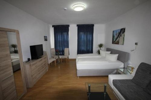 Apartment-Klassisch-Eigenes Badezimmer-Stadtblick-Familienzimmer