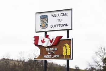 Dufftown, Scottish Highland Town