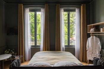 Chambres avec vue sur le jardin