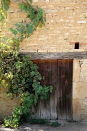 Détail grange Domaine de la Licorne