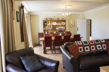 Lounge to Dining Room