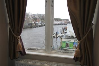 Harbour view in deluxe double room 3