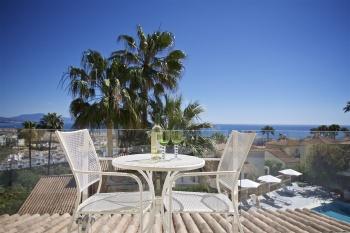 Palm Suite balcony