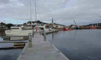 Harbour facilities in Killybegs