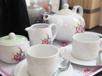 Relax with a nice cup of tea!