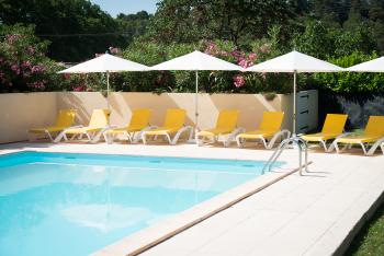 Château Canet heated pool