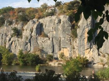 Le Chassezac - Baignade