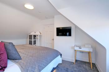 Smart TVs, powerful hairdryers and open wardrobes in each of Ben Shea bedrooms