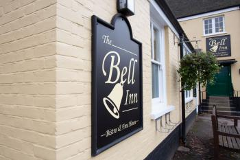 Exterior of the Bell Inn and Bistro