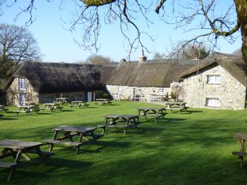 Our large, acre, pub garden