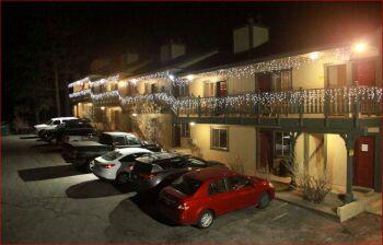 Motel Front - Evening/Night