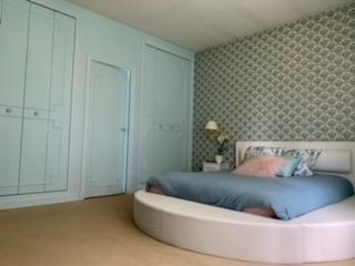 Suite-Bleuet-Confort-Salle de bain-Vue sur Piscine