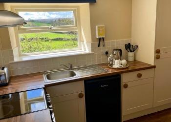 Daisy Cottage kitchen area