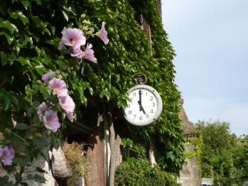 L'horloge de la Maison des 5 Temps
