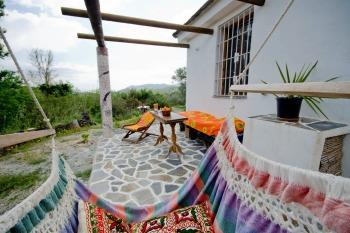 Casa Iris ~ back terrace