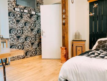 Atelier: Chambre 35 m² 2-3 pers