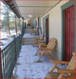 Motel Porch