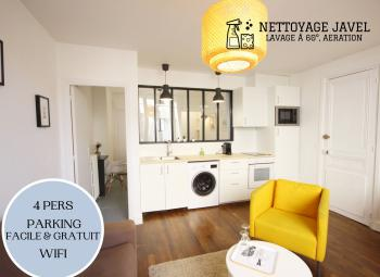 Le City Break-Appartement-Design-Salle de bain-Vue sur Rue - Le City Break Tarif de base