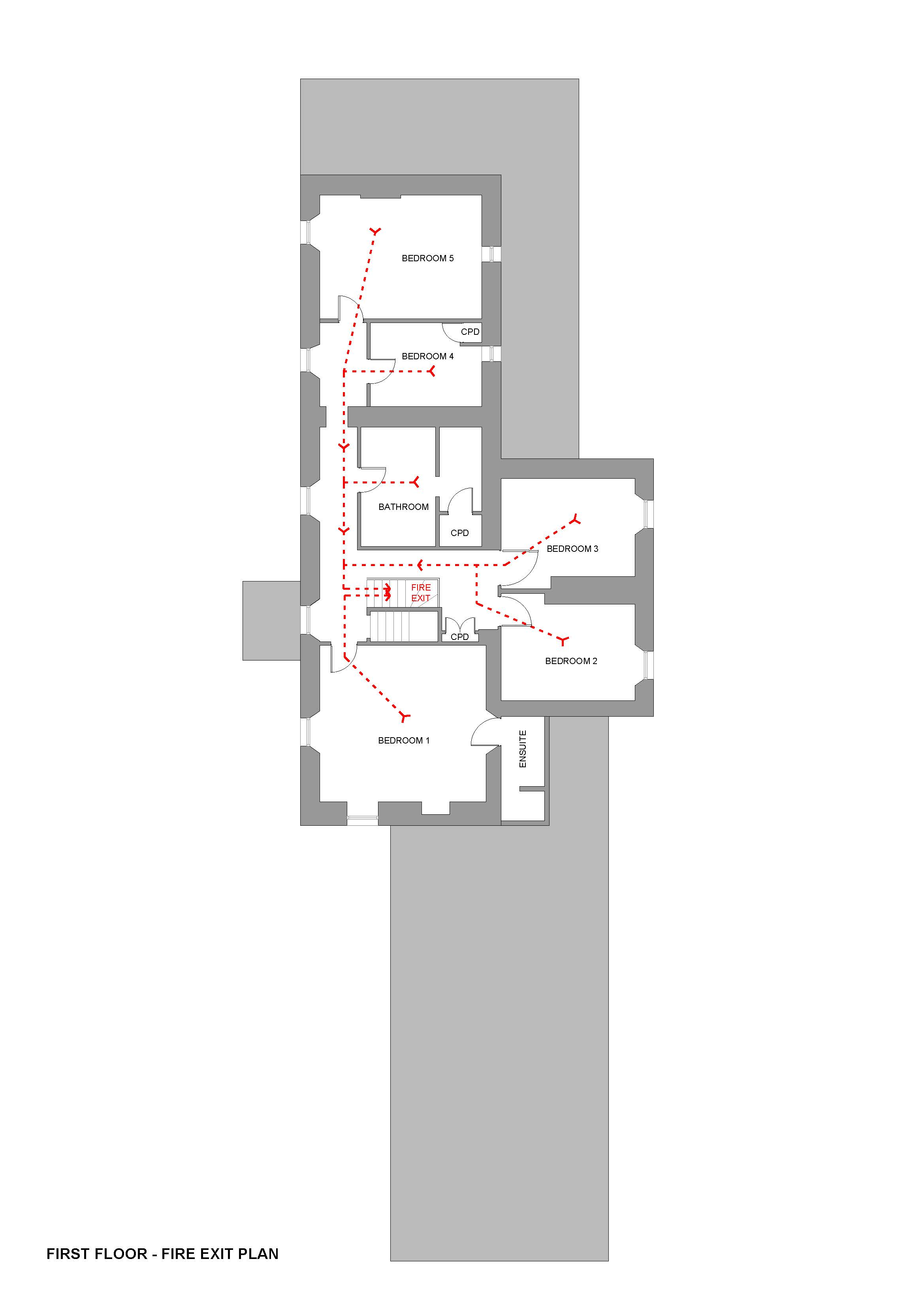 First Floor Layout