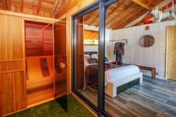 sauna + chromothérapie