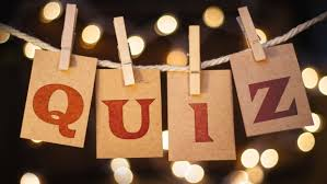 Quiz Night - Tuesday 1st October 8pm