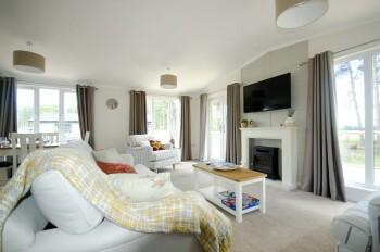 Woodland Lodge Living Room