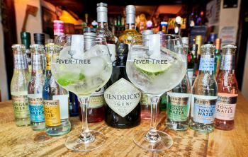 Some of our lovely Gins