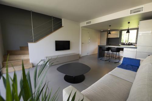 Duplex-Appartement-Salle de bain privée séparée-Terrasse - Tarif de base
