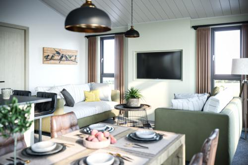 Lodge-Modern-Lake View-Sunflower Lodge