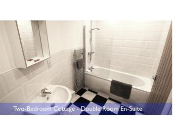 Barn master bathroom