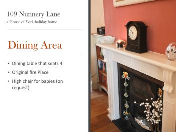 Dining area summary