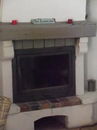 la cheminée du petit mazet
