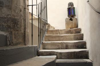 l'escalier à vis du 18è siècle