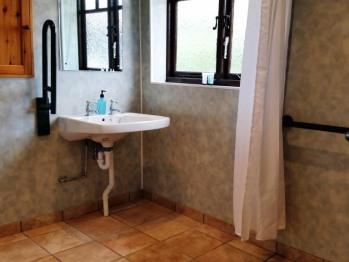 En suite shower wet room, Cottage B