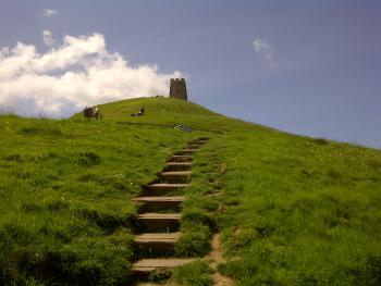 Glastonbury Tor Footpath