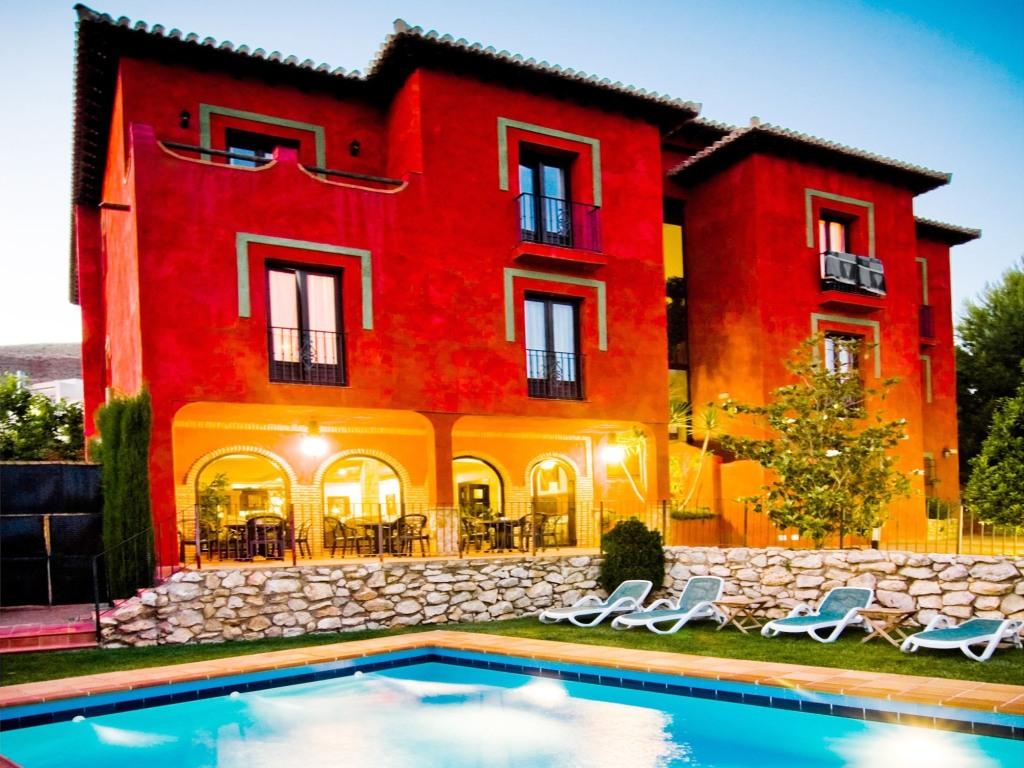 Hotel Cerro Del Sol Granada Habitaciones