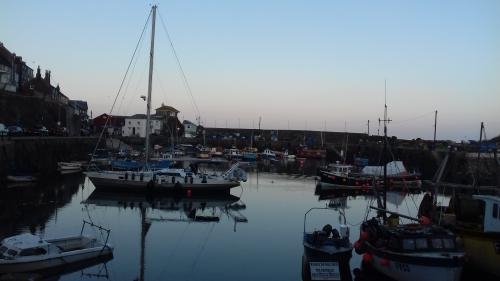 Mevagissy is a traditional Cornish fishing harbour