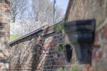Enjoy our private walled garden with views of the city wall!