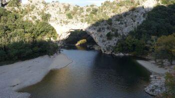 Le Pont d'Arc et ses plages