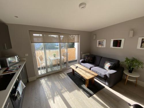 Top floor apartment with balcony