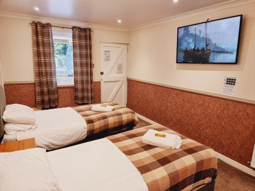 Lodge-Ensuite with Shower-Gnd Floor-Twin-Disabled