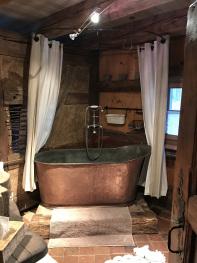 Baignoire douche authentique