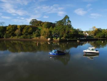 View across the estuary