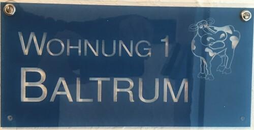 Ferienwohnung-Eigenes Badezimmer-1 Baltrum - Baltrum Standardpreis