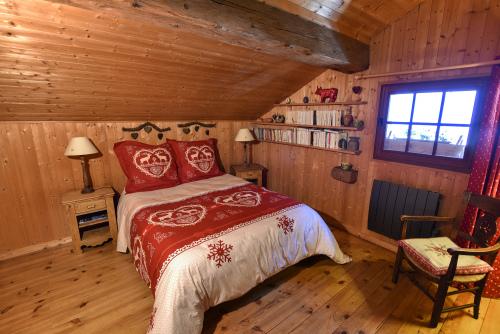 Double-Traditionelle-Salle de bain privée séparée-Vue sur Montagne