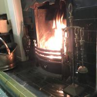 Guest lounge - coal fire - picture 1